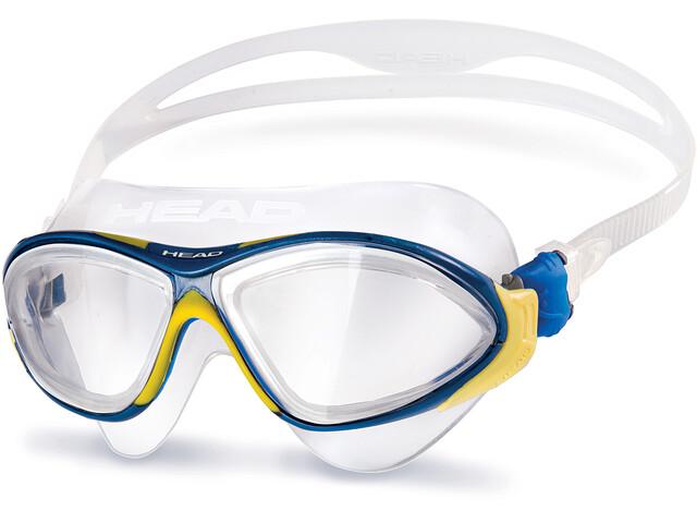 Head Horizon Máscara, clear-yellowblue-clear